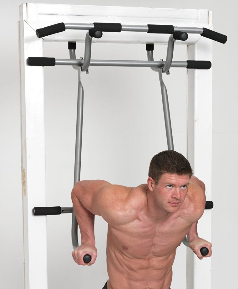 how to create a pull up bar at home